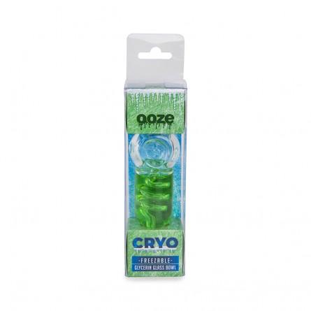 Pipe en verre et glycérine Cryo - OoZe