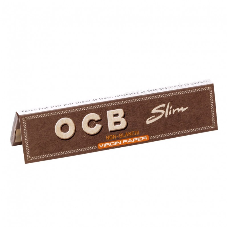 Feuilles Slim non blanchies - OCB