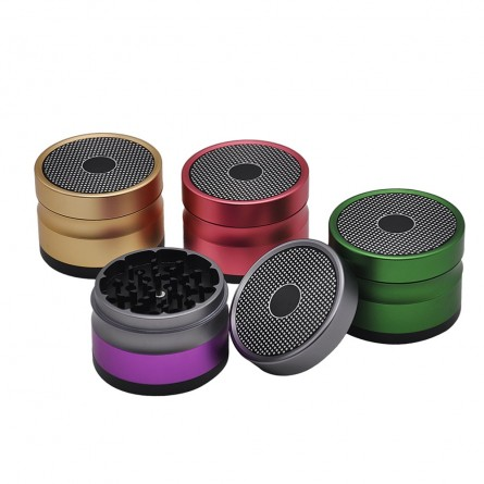 Grinder Emietteur 4 parties Honey - 63mm