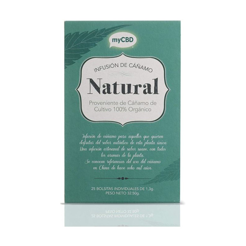 Natural - Infusion de chanvre myCBD
