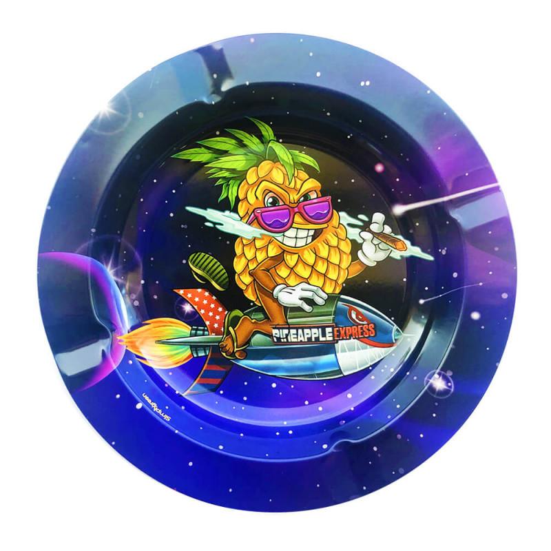 Cendrier Métal Fusée
