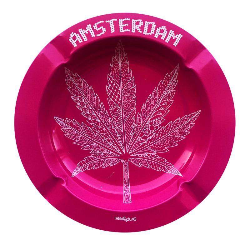 Cendrier Métal Pink Leaf