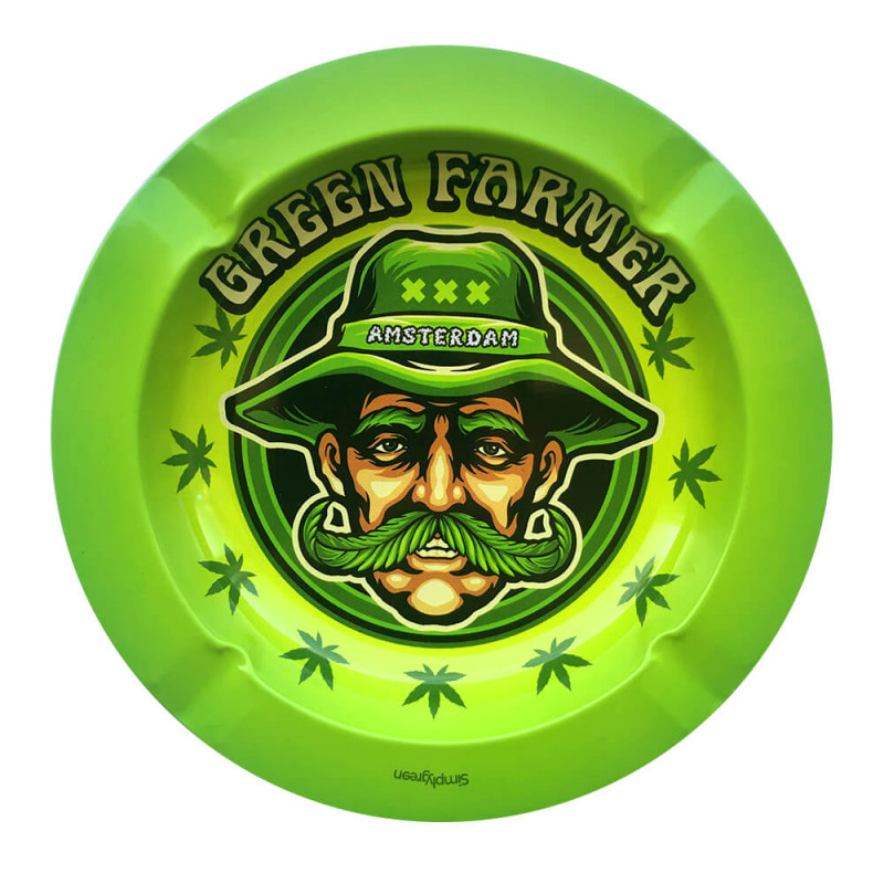 Cendrier Métal Green Farmer