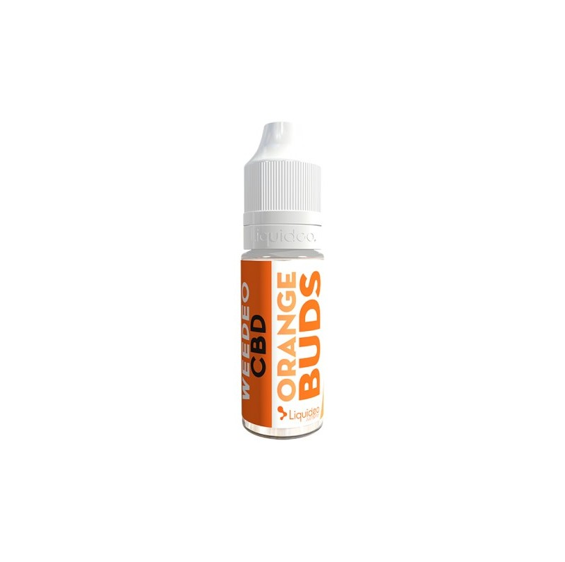 E-Liquide CBD et Terpènes Orange Bud - Weedeo