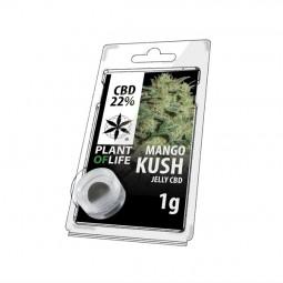 Résine CBD 22% - Mango Kush