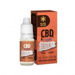 E-Liquide CBD et Terpènes Critical+ - PlantofLife