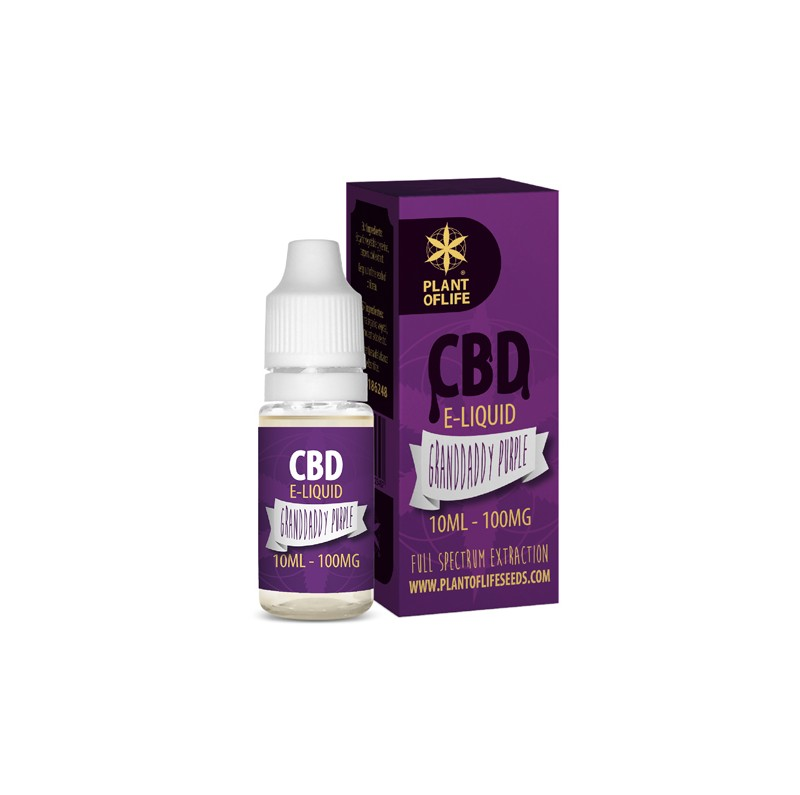 E-Liquide CBD et Terpènes Granddaddy Purple - PlantofLife