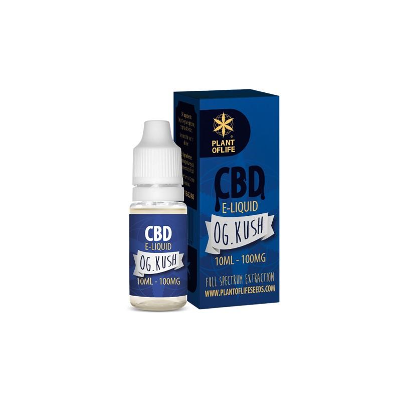 E-Liquide CBD et Terpènes Og Kush - PlantofLife