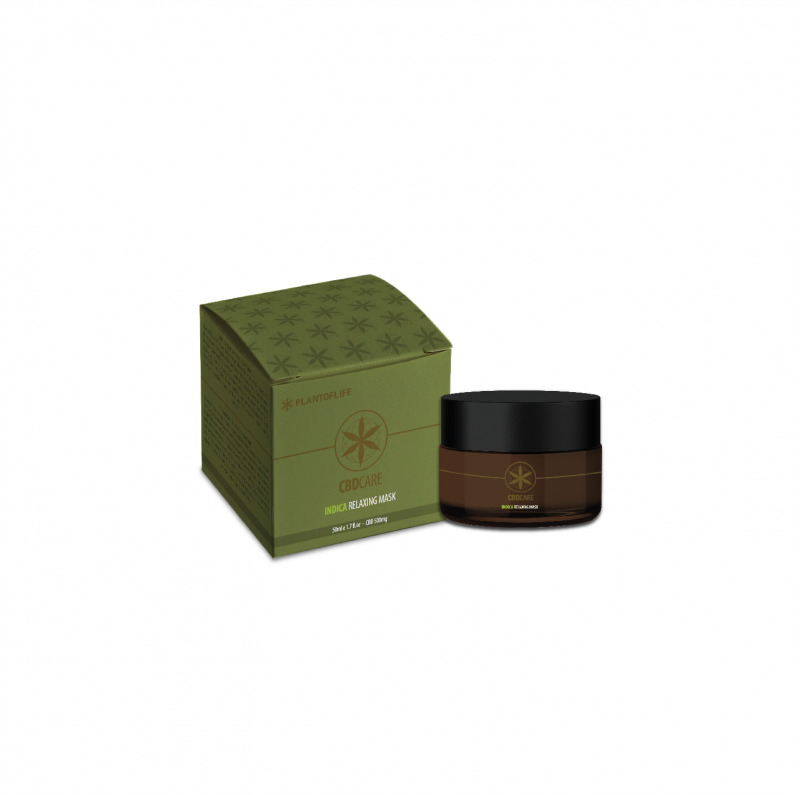Masque Relaxant CBD - PlantofLife