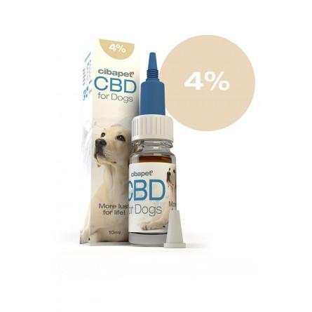 Huile de CBD pour Chiens 4% - Cibdol