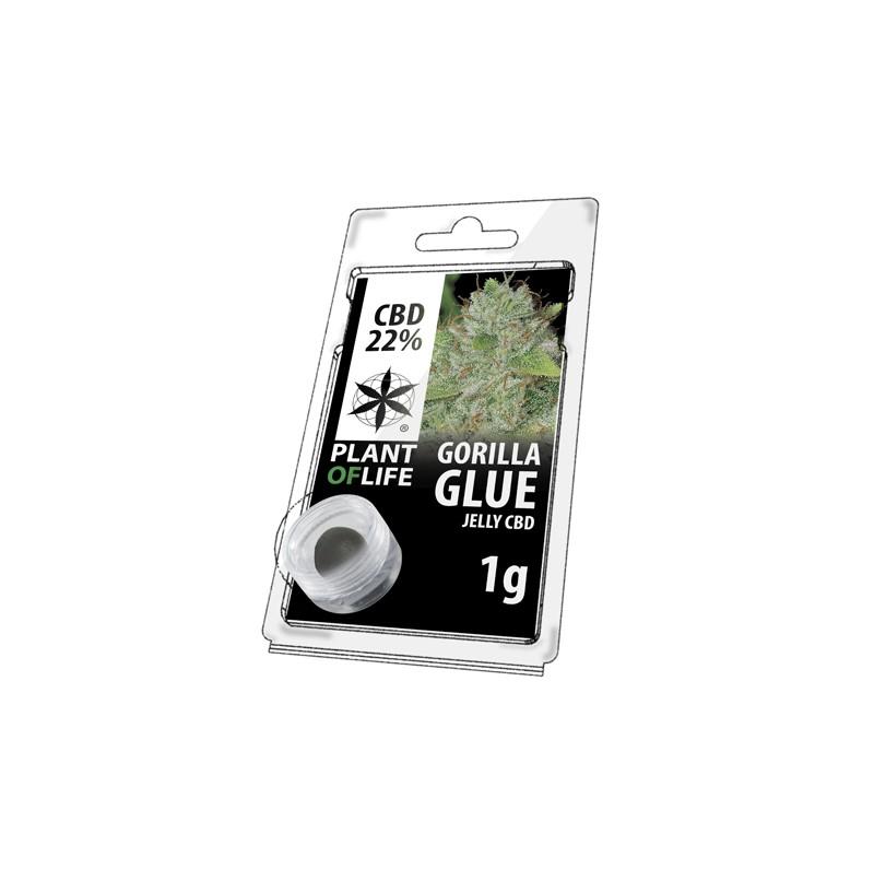 Résine CBD 22% - Gorilla glue