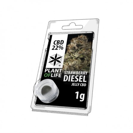 Résine CBD 22% - Strawberry Diesel