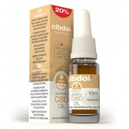 Huile de CBD 20% - Cibdol (Graines de chanvre)