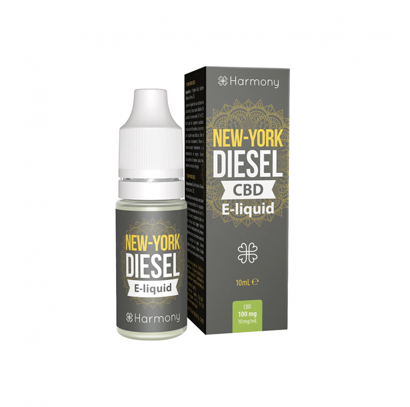 E-Liquide CBD et Terpènes New York Diesel - Harmony