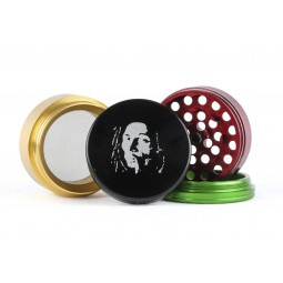 Grinder 4 parties Rasta Bob - 43mm