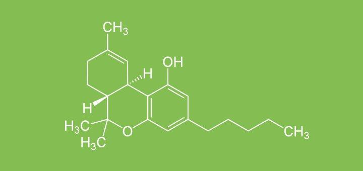 Molécule THC